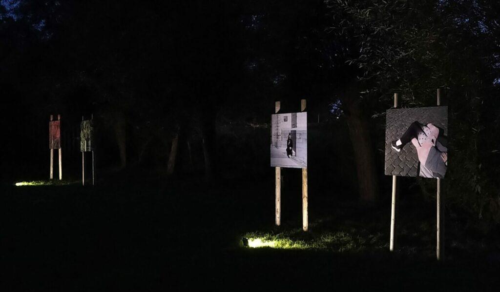 expo kunst in het dorp